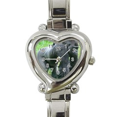 Gorilla Dad Heart Italian Charm Watch
