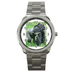 gorilla dad Sport Metal Watch