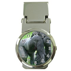 gorilla dad Money Clip with Watch