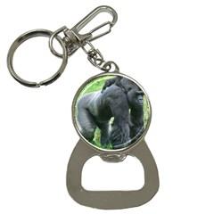 Gorilla Dad Bottle Opener Key Chain
