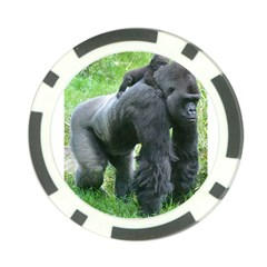 gorilla dad Poker Chip