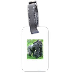 gorilla dad Luggage Tag (One Side)