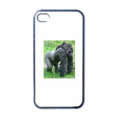 gorilla dad Apple iPhone 4 Case (Black)