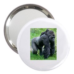 Gorilla Dad 3  Handbag Mirror