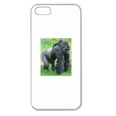 Gorilla Dad Apple Seamless Iphone 5 Case (clear)