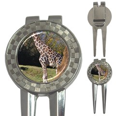 giraffe Golf Pitchfork & Ball Marker