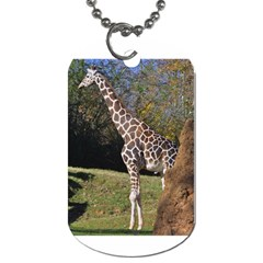 giraffe Dog Tag (Two-sided)