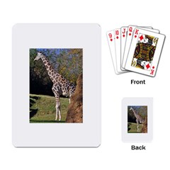 giraffe Playing Cards Single Design