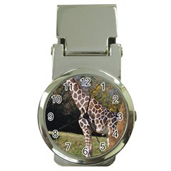 giraffe Money Clip with Watch