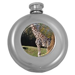 Giraffe Hip Flask (round)