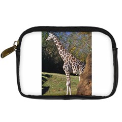 Giraffe Digital Camera Leather Case