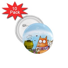 Apron 1 75  Button (10 Pack)