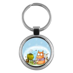 Apron Key Chain (Round)