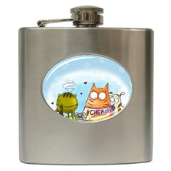 Apron Hip Flask