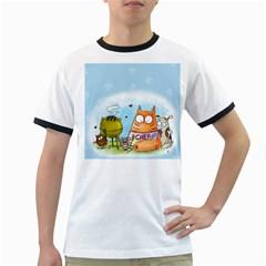 Apron Mens' Ringer T-shirt