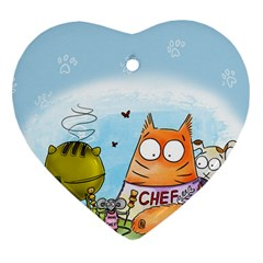 Apron Heart Ornament (Two Sides)
