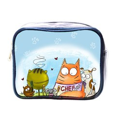 Apron Mini Travel Toiletry Bag (one Side)