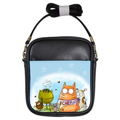 Apron Girl s Sling Bag