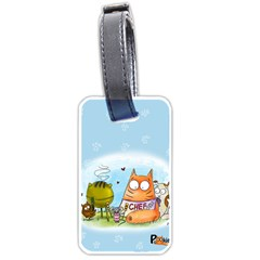 Apron Luggage Tag (two Sides)