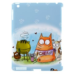 Apron Apple Ipad 3/4 Hardshell Case (compatible With Smart Cover)