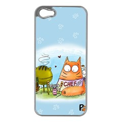 Apron Apple iPhone 5 Case (Silver)