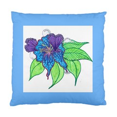 Flower Design Cushion Case (Two Sided)