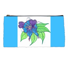 Flower Design Pencil Case