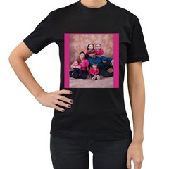 morris mommy Womens' Two Sided T-shirt (Black)