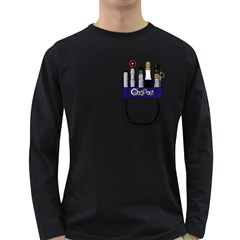 Sonic Pocket Protector Mens' Long Sleeve T-shirt (Dark Colored)