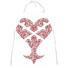 Key Heart 2 Apron