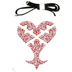 Key Heart 2 Shoulder Sling Bag