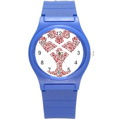 Key Heart 2 Plastic Sport Watch (small)
