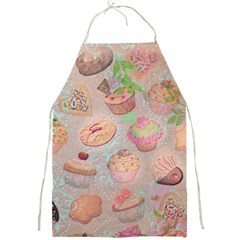 French Pastry Vintage Scripts Cookies Cupcakes Vintage Paris Fashion Apron