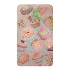 French Pastry Vintage Scripts Cookies Cupcakes Vintage Paris Fashion Memory Card Reader (Rectangular)