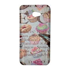 French Pastry Vintage Scripts Floral Scripts Butterfly Eiffel Tower Vintage Paris Fashion HTC Butterfly S/HTC 9060 Hardshell Case