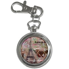 Girly Bee Crown  Butterfly Paris Eiffel Tower Fashion Key Chain & Watch