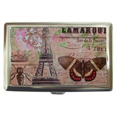 Girly Bee Crown  Butterfly Paris Eiffel Tower Fashion Cigarette Money Case