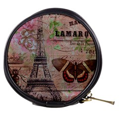 Girly Bee Crown  Butterfly Paris Eiffel Tower Fashion Mini Makeup Case