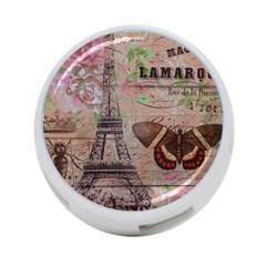 Girly Bee Crown  Butterfly Paris Eiffel Tower Fashion 4 Port Usb Hub (one Side)