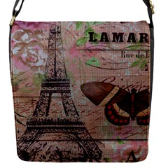 Girly Bee Crown  Butterfly Paris Eiffel Tower Fashion Removable Flap Cover (Small)