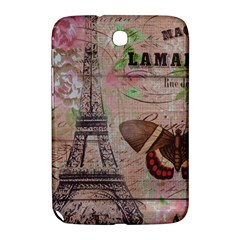 Girly Bee Crown  Butterfly Paris Eiffel Tower Fashion Samsung Galaxy Note 8.0 N5100 Hardshell Case