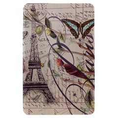 Paris Eiffel Tower Vintage Bird Butterfly French Botanical Art Kindle Fire Hardshell Case