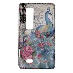 French Vintage Chandelier Blue Peacock Floral Paris Decor LG Optimus 3D P920 / Thrill 4G P925 Hardshell Case