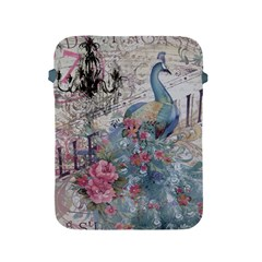 French Vintage Chandelier Blue Peacock Floral Paris Decor Apple Ipad 2/3/4 Protective Soft Case