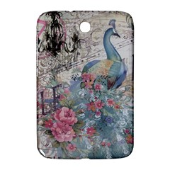 French Vintage Chandelier Blue Peacock Floral Paris Decor Samsung Galaxy Note 8 0 N5100 Hardshell Case