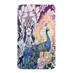 Damask French Scripts  Purple Peacock Floral Paris Decor Memory Card Reader (Rectangular)