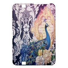 Damask French Scripts  Purple Peacock Floral Paris Decor Kindle Fire HD 8.9  Hardshell Case