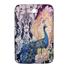 Damask French Scripts  Purple Peacock Floral Paris Decor Samsung Galaxy Note 8.0 N5100 Hardshell Case