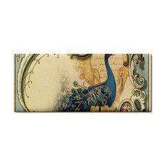 Victorian Swirls Peacock Floral Paris Decor Hand Towel