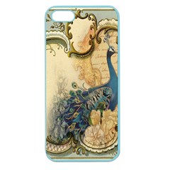Victorian Swirls Peacock Floral Paris Decor Apple Seamless iPhone 5 Case (Color)